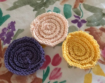 Facial Scrubbies 3-set