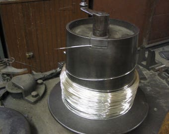 925 Sterling Silver 28 Gauge Round Wire DS (.63/Ft Includes Shipping)