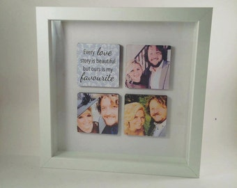Personalised Box Frame, Photo Frame, Picture Frame, Picture Display, Personalised Gift, Photo Gift, home decor