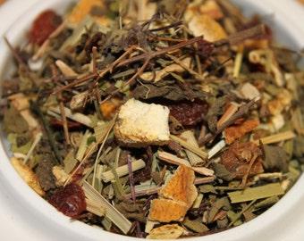 Herbal: Cold Comfort Wellness Herbal Tea Blend Tisane, Detox Tea, No Caffeine