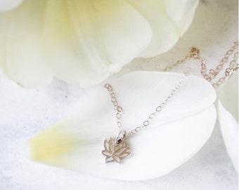 Lotus Necklace, Lotus Silver, Silver Lotus Necklace, Sterling Silver Lotus Necklace, Silver Lotus, Lotus Necklace Silver