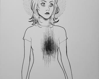 That Familiar Feeling - Original drawing