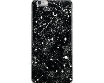 Galaxy iPhone Case, iPhone 6 Case, iPhone 6 Plus Case, iPhone 7 Case, iPhone 7 Plus Case, iPhone 8 Case, iPhone X Case, Celestial, Space