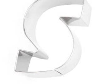 Eddingtons Stainless Steel Alphabet Letter Biscuit Cookie Pastry Cutters - S