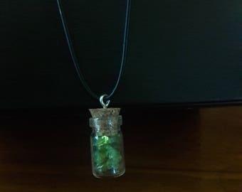 Peridot Spiritual Protection Necklace