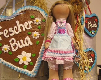 "Puppe  ""Oktoberfest Fräulein Maria"""