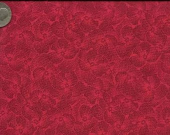 RJR Jenny Beyer Quilting Cotton Fabric Poppy Pansy 126090 - 1/2 Yard
