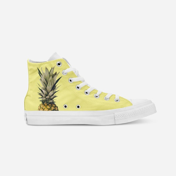 Personalized Converse Gift Painted Gift Custom Kicks Shoes Pineapple Custom ideas Cool For Converse Sneakers Shoe Shoes Art Her SqOwx7BP