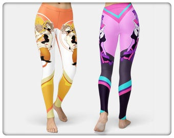 Mercy and Sombra Leggings