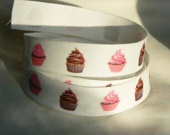 Ribbon cupcake Twill 20 mm
