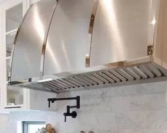 Metal hoods, custom kitchen hoods, copper hoods