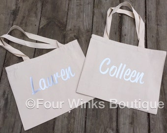 Personalized  ~ Canvas Tote   ~