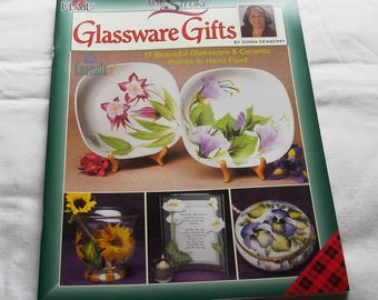 One Stroke Glassware Gifts, by Donna Dewberry, Decorative Painting 9682, FAST-n-FREE US Shipping, BC1