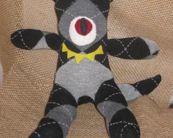 Loveable Monster Sock Doll
