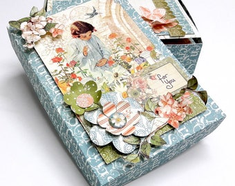 Graphic 45 Secret Garden 8 Cards in a Box Set