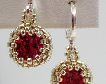 Simplicity Earrings PDF Jewelry Making Tutorial Pattern (INSTANT DOWNLOAD)