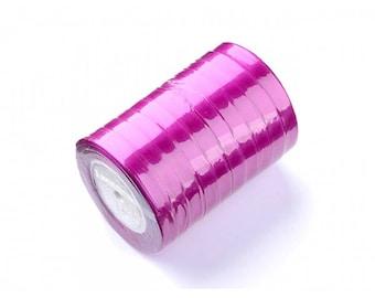 22 m 6mm violet purple satin ribbon