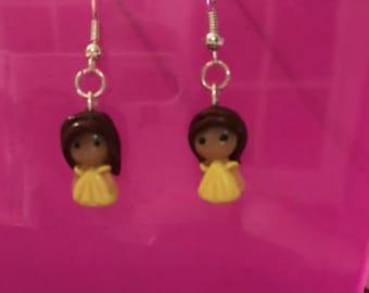 Belle inspired earrings