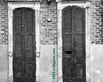Door And Window - fine art photography - 11x14-print - wall art