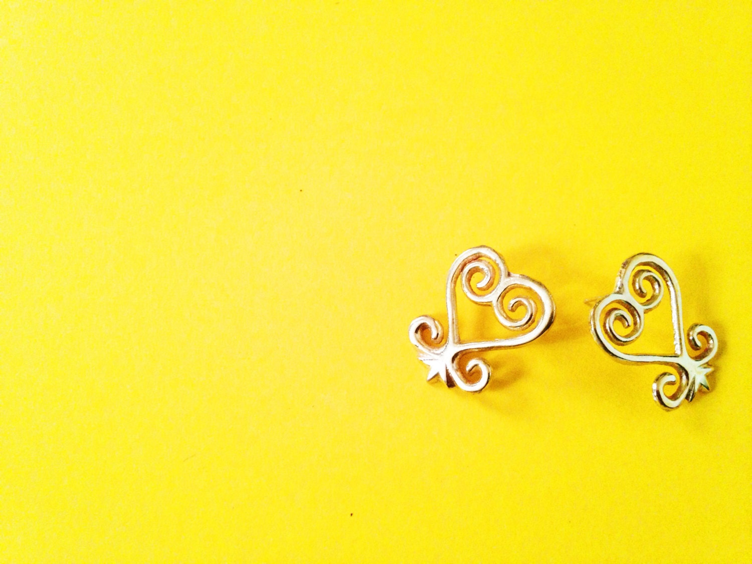 Sankofa adinkra stud earrings african symbol earrings zoom buycottarizona