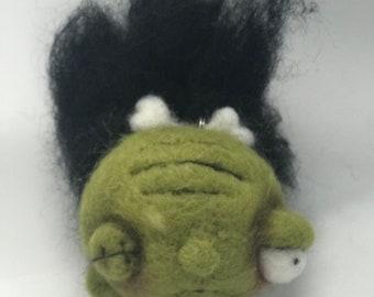 Shrunken Head ornie Original one of a kind art doll