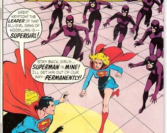 Supergirl in Adventure Comics 381, KEY, 1st solo comic book, Superman, CW Superhero, Neal Adams art, Silver Age. 1969 in VFNM (9.0