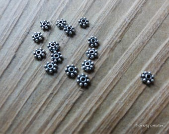 10 spacer beads Tibetan style