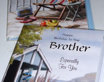 12 cards BROTHER CARDS x12 JUST 35p - We also have birthday cards / christmas cards / thank you cards