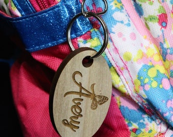 Personalized Back Pack Tag, School Backpack Tag, Luggage Tag, Kids ID Tag, Kids Backpack Tag, Personalized Zipper Pull
