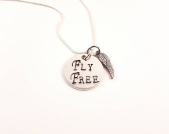 Fly Free Wing Necklace