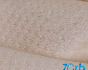 Zorb® 2 Dimples Super Absorbent Fabric (Made in Canada, sold by the yard)