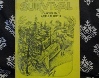 Two for Survival by Arthur Roth Xerox paperback