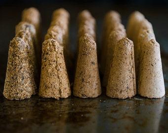 Oak Incense | Campfire Incense | Natural Incense Cones | Wood and Resin