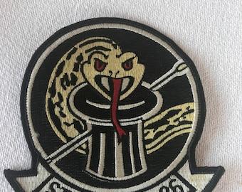Original Vintage Military Strkfitron 86 Snake Design