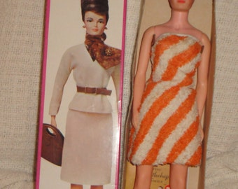 1964 Remco Lisa Littlechap never Removed from Box with Stand and Booklet