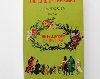 The Lord of the Rings Part One The Fellowship of the Ring Paperback 1974