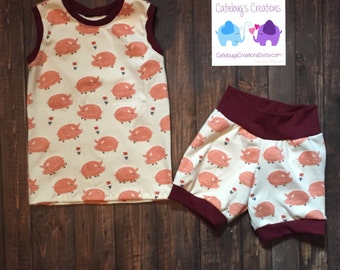 SPRING SALE!! Piggy outfit