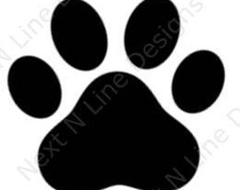 Paw Print, Animal, Pet, Dog, Cat, Paw, Window Sticker, Car Decal, Vehicle Decal, Car Window Decal, Home Decor, Vinyl Decal