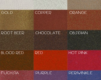 Small Sample of Glitter Vinyl • Swatch of Sparkle Material • Metal Flake • Metalflake • Like Shiny Diner Booth • Similar to Zodiac