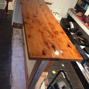 Custom Bar Top (Pricing Depends On Wood Selection)