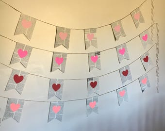Book page heart banner (Large)