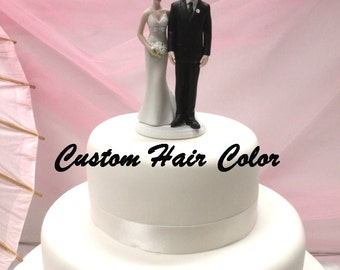 Custom Wedding Cake Topper - Love Pinch Cake Topper - Bride and Groom - Wedding Cake Topper - The Love Pinch - Funny Cake Topper - Humorous