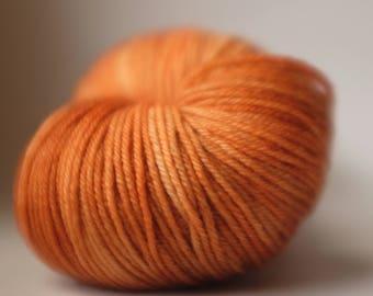 MERRI CREEK SOCK, 1 available, Oompa Loompa, batch 100418, ~108g, Australian superwash merino, 80/20 merino/nylon