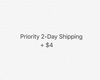 This listing is to add Priority Mail :)
