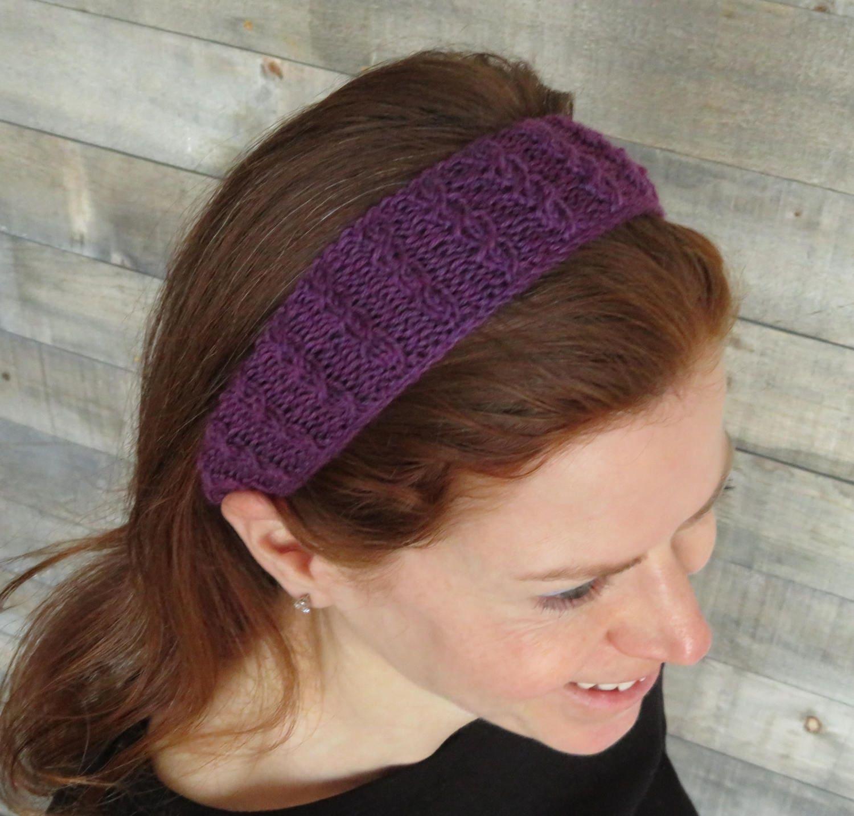 Perfect Twisted Headband Knit Pattern Pattern - Blanket Knitting ...