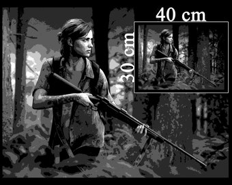 Ellie - The Last of Us 2 - Digital Print