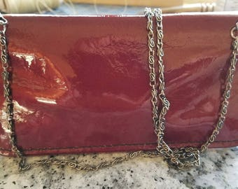 Handmade Leather Crossbody Wallet