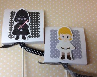 Star Wars Party Lollipop Favors - Set of 10