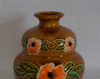 Fred Roberts Co. Japan Squat Floral Vase