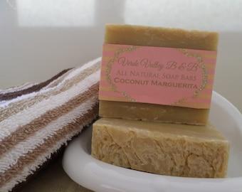 Coconut Marguerita Soap, Coconut Marguerita Bar Soap, Coconut Marguerita Soap Bar, Handmade Soap, Natural Soap, Citrus Soap, Vegan Soap
